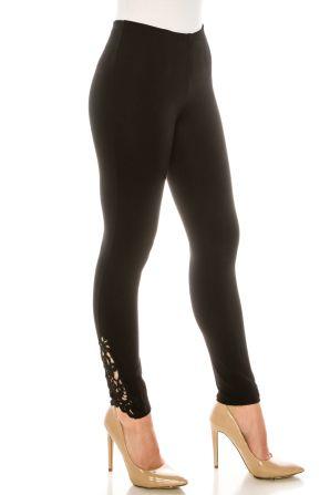 Nygard Luxe Slims Black Ankle Legging