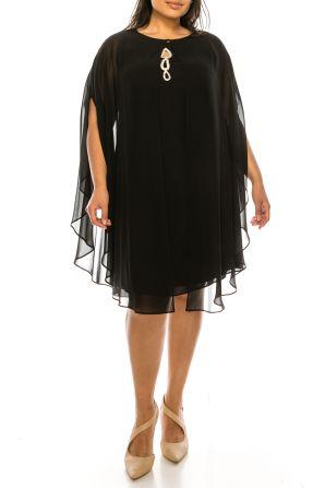 SLNY 2 Piece Evening Jacket Dress